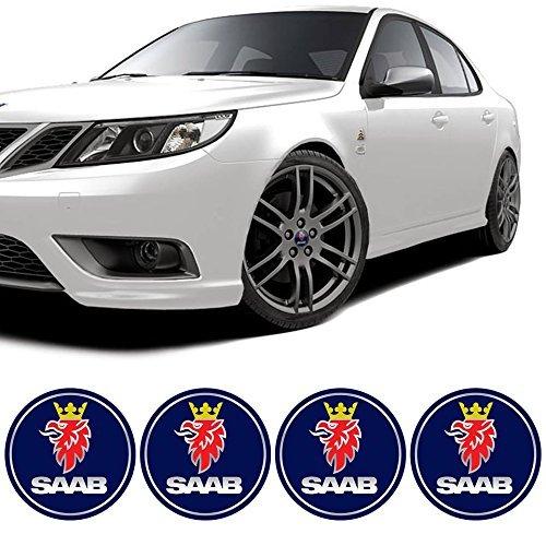 4-x-65mm-diametro-di-rotella-cap-sticker-autoadesivo-emblema-logo-per-saab