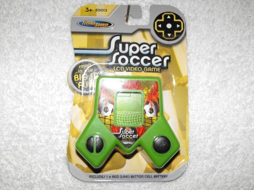 Super Soccer LCD Video Game by Techno Source - 1