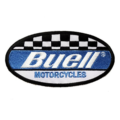 Buell embroidered iron on patch sew car logo clothes