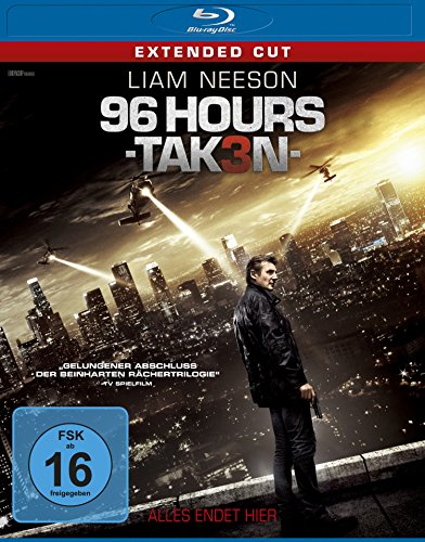 96 Hours - Taken 3 [Blu-ray]