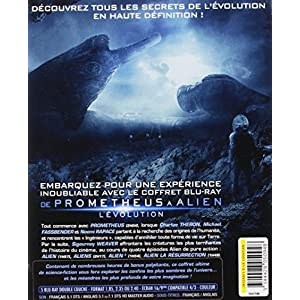 De Prometheus à Alien, l'évolution [Blu-ray]