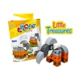 Brick Clicks Elephant 34pcs 3 In 1 Unlimited Creativity Fun Educational Play Toys Building Blocks Set For Boys...