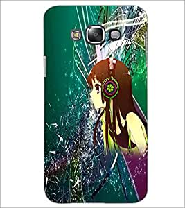 PrintDhaba Music Girl D-4387 Back Case Cover for SAMSUNG GALAXY GRAND 3 (Multi-Coloured)