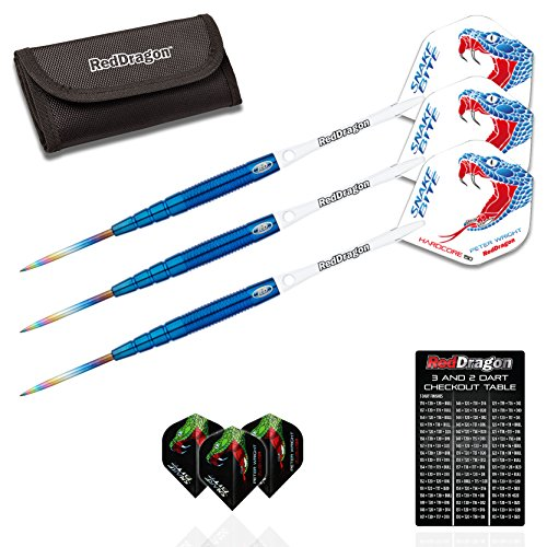 red-dragon-peter-wright-snakebite-blue-pl15-26-gram-90-tungsten-steel-darts-with-hardcore-super-thic