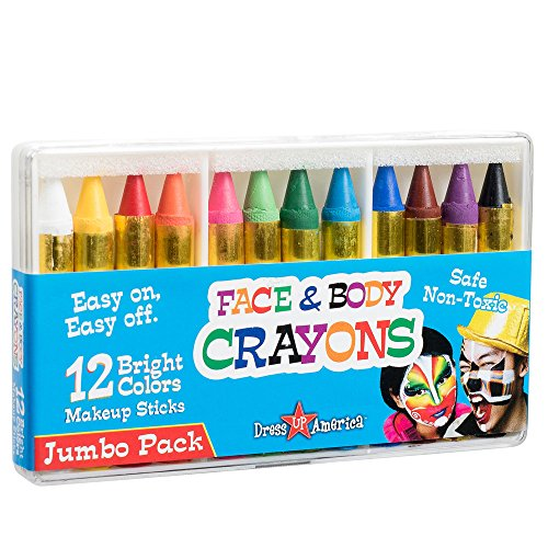 dress-up-america-12-color-face-paint-safe-non-toxic-face-and-body-crayons