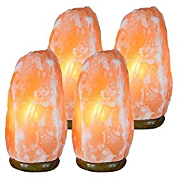 JIC Himalayan Natural Ionic Air Purifier Rock Crystal Salt Lamp #7