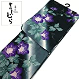 京都ブランド(嵐山よしむら)浴衣単品黒系(10150251)