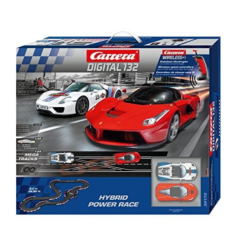 Carrera 30173 Hybrid Power Race Set, Digital 1/32