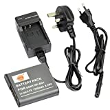 DSTE® NP-BG1 Rechargeable Li-ion Battery + Charger DC02U for Sony NP-BG1, NP-FG1 and Sony Cyber-shot DSC-H3, DSC-H7, DSC-H9, DSC-H10, DSC-H20, DSC-H50, DSC-H55, DSC-H70, DSC-H90, DSC-HX5V, DSC-HX7V, DSC-HX9V, DSC-HX10V, DSC-HX20V, DSC-HX30V, DSC-N1, DSC-