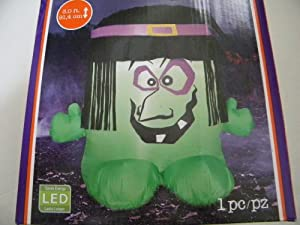 3ft Halloween Airblown Inflatable Witch