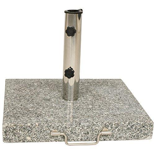 sonnenschirmst nder granit 45 cm eckig 30 kg schirmst nder. Black Bedroom Furniture Sets. Home Design Ideas