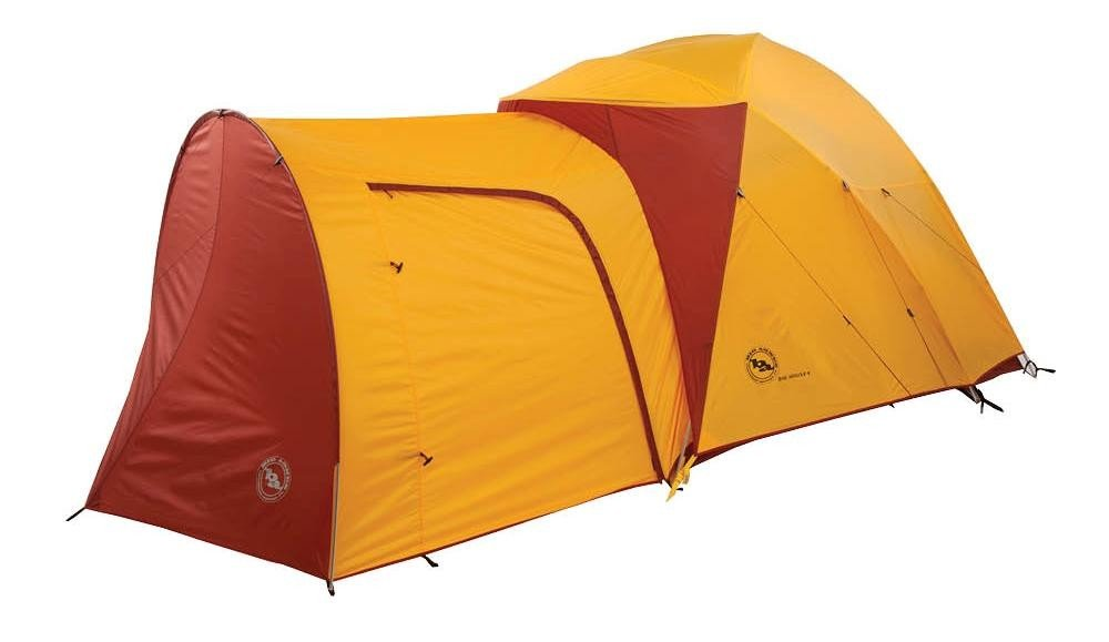 Amazon.com : Big Agnes Big House 6 Person Tent (Yellow/Red ...