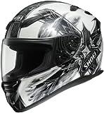 Shoei Diabolic Feud RF-1100 Street Bike Racing Motorcycle Helmet - TC-6 / Medium