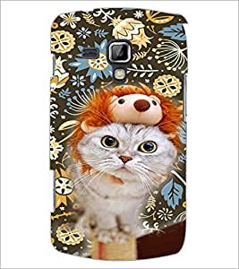 PrintDhaba Kitty D-4657 Back Case Cover for SAMSUNG GALAXY S DUOS S7562 (Multi-Coloured)