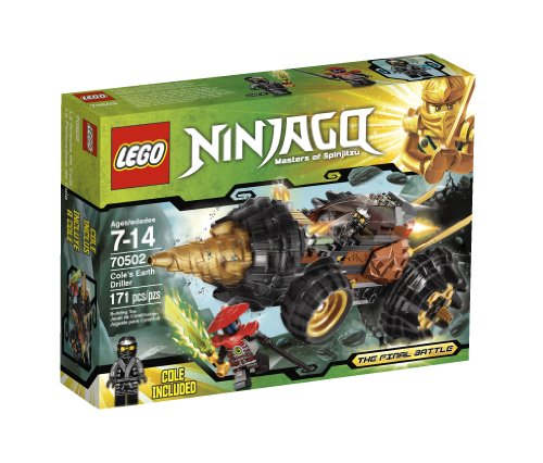 LEGO Ninjago Cole Earth Driller 70502 Amazon.com