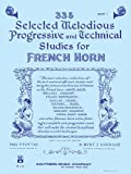 335 Selected Melodious Progressive Technical Studies for French Horn