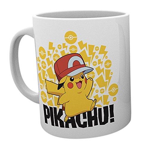 Pokemon-Ash-Hat-Pikachu-Tazas