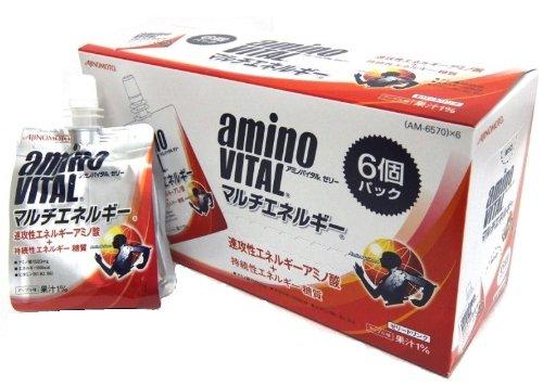 アミノバイタル ゼリードリンク マルチエネルギー 180g×6個