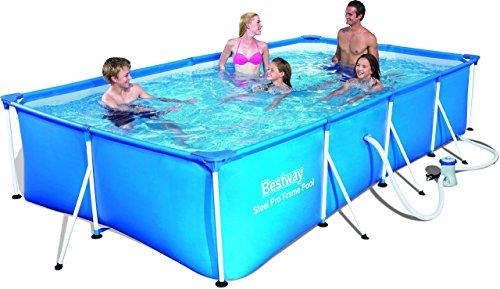 Bestway 56424 steel pro frame piscina fuori terra da - Piscina bestway opinioni ...