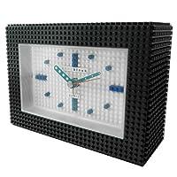 [ナノブロック]nanoblock デコレーション目覚まし時計 アラームクロック インテリアクロック おまけフィギュアセット「ジャイアントパンダ」付 ホワイト 96902WH019