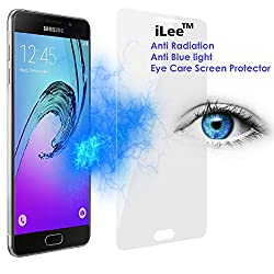 iLee Anti Radiation Eye Care Premium TEMPERED Glass Screen Protector For SAMSUNG GALAXY A7