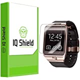 IQ Shield LIQuidSkin - Samsung Galaxy Gear 2 Screen Protector with Lifetime Replacement Warranty - High Definition (HD) Ultra Clear Watch Smart Film - Premium Protective Screen Guard - Extremely Smooth / Self-Healing / Bubble-Free Shield - Kit comes in Frustration-Free Retail Packaging [6-Pack]