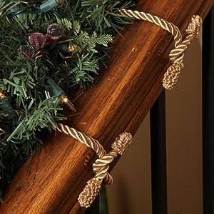 Haute decor decorative twist tie gold for Haute decor