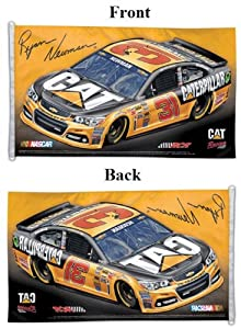 Ryan Newman Official NASCAR 3ftx5ft Banner Flag by WinCraft
