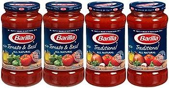 4-Pack Barilla Pasta Sauce Variety Pack Jars