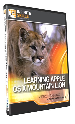 Infinite Skills Mac 10.8 OS X Mountain Lion Training DVD (PC/Mac)