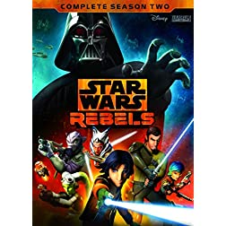 STAR WARS REBELS: THE COMPLETE SEASON 2 - 4-DISC DVD