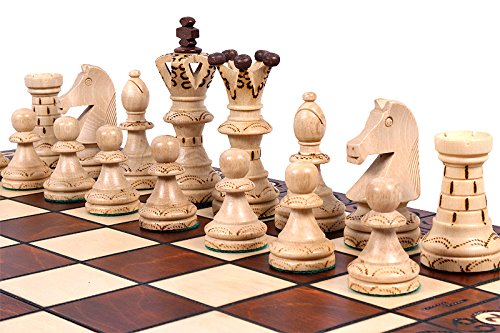 The Jarilo - Unique Wood Chess Set, Pieces, Chessboard & Storage 4