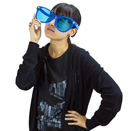 Jumbo Sun Glasses By Pudgy Pedro's Party Supplies, Choose Your Favorite Color