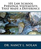 img - for 101 Law School Personal Statements That Made a Difference book / textbook / text book