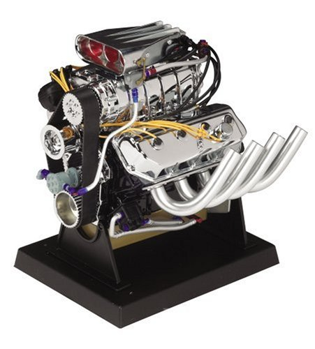 Liberty Classics Hemi Top Fuel Dragster Engine Replica, 1/6th Scale Die Cast (Engine Model compare prices)