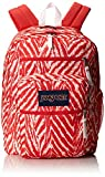 JanSport Big Student Backpack - Coral Peaches Wild At Heart 17.5H x 13W x 10D