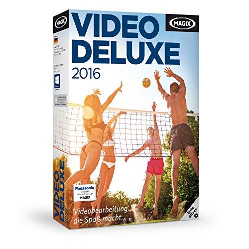 MAGIX Video deluxe 2016, Das Videobearbeitungsprogramm für...