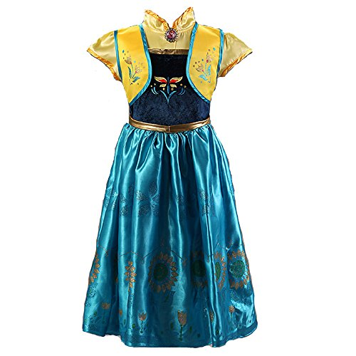 Frozen Fever Inspired Anna Costume