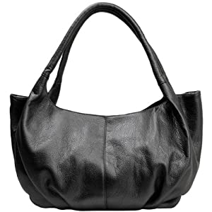 MG Collection Black YELENA Soft Top Double Handle Satchel Style Hobo  Shoulderbag Shoes 0881e597b9c99