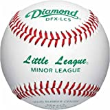 Diamond Little League Low Compression Level 5 Minor League Baseball, Dozen