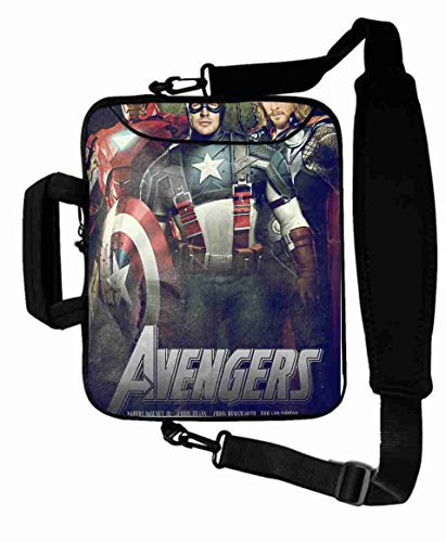 "Excellent Customized Colorful the avengers movie Shoulder Bag For Women (10 Inch) For 9.7""iPad Air 2-iPad 1 2 3 4 5-Samsung Galaxy Tab 3 S T700-Note 10.1-Tab PRO-Google Nexus 10 - CB-10-5666"