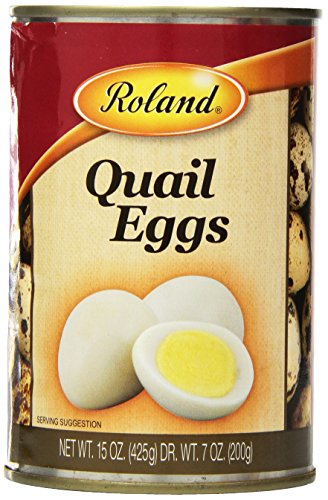 Roland Quail Eggs, 15 Ounce (Pack of 6) (Canned Eggs compare prices)