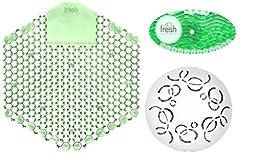 Fresh Kit 4 Pack Cucumber Melon Air Freshener - 4, Easy Fresh 2.0 Cucumber Melon Covers, 4- Wave 3D Cucumber Melon Urinal Screens, & 4 - Cucumber Melon Remind Air Deodorizers