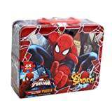Spiderman 48 Piece Puzzle in Tin Lunchbo...