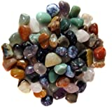 2 Pounds Brazilian Tumbled Polished Natural Stones Assorted Mix