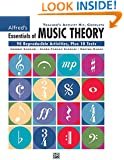 Alfred's Essentials Of Music Theory (Teacher's Activity Kit, Complete)