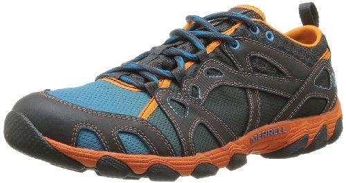 merrell-hurricane-lace-zapatillas-para-el-agua-de-cuero-hombre-azul-blue-orange-peel-43