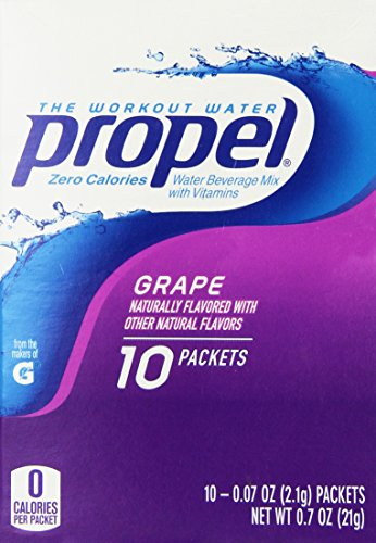 Propel Zero Powdered Beverage Mix, Grape, 10-Count (Propel Grape Drink Mix compare prices)