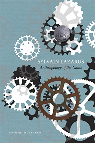 Anthropology of the Name (The French List)