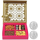 Chocholik Belgium Chocolates - Lovely Collection Of Almonds, Truffles, Butterscotch And Baklava Gift Box With... - B015RAGR6S
